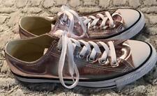 Converse All Star Chucks Pink Metallic Low Top Shoes Sz 10 ~*~ NEW no tags L@@K