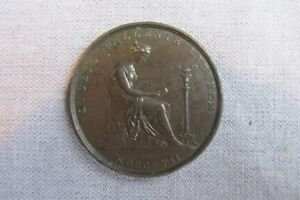 London Institution -- Bronze Pass Ticket / Medal -- C19th British / Science  849