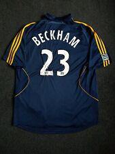 La galaxy Mls 2007-08 Away football Shirt #23 Beckham Size mens Xl