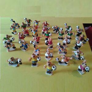Lot de 34 Figurines de Foot - Footballeurs - Objet publicitaire à collectionner