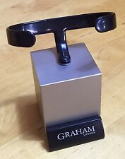 Graham London Watch finestra esposizione negozio Chronofighter PESCE SPADA SILVERSTONE OEM