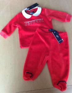 Ferrari Baby Clothes Shoes And Accessories For Sale Ebay