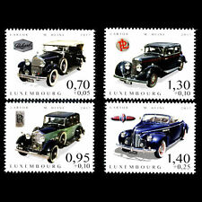 CLASSIC CARS PACKARD-BUICK-ROLLS-PL LUXEMBOURG 2017 FINE MNH