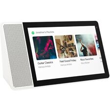 Lenovo Smart Display 10.1-inch FHD with Google Assistant Home Bamboo ZA3N0003US