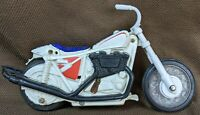 Vintage 1972 EVEL KNIEVEL Stunt Cycle for Parts or Repair by IDEAL 1970's