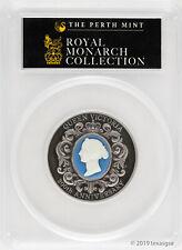 2019-P Australia Silver $2 200th Anniversary Queen Victoria Cameo Pcgs Ms70
