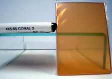 """4x5.650 Tiffen Coral 2 Glass Filter 4x5.65"""" Filters 45650CO2"""
