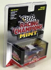 Racing Champions Menta 1/64 escala 1960 Chevy Impala Azul Blanco Coche Modelo Diecast