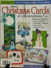 Just Christmas Cards & Decorations Vol 3 Homemade Christmas FREE SHIPPING sb