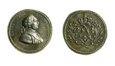 s289_1) France Louis XVIII King, Silver Medal undated c.1830 mm 14 Collignon 596