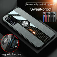 For Samsung Galaxy Note 20 Ultra A51 A71 M31 Leather Magnetic Ring Case Cover