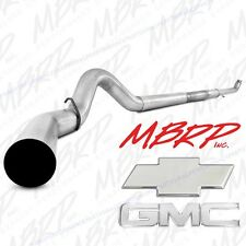 "MBRP 5"" Turbo Back* Aluminized Exhaust For '01-07 Duramax 6.6L  S6020PLM"