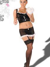 Cute Sheer Maid Outfit Lingerie Cosplay Incitari S/M