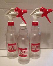 2x Autoglym Trigger Spray Bottles + 1x Flip Top Dressing Bottle 500ml Valeting