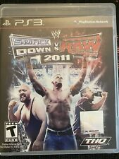 WWE SmackDown vs. Raw 2011 PS3 Video Games Complete In Box CIB Tested