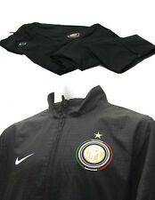 Nike Mens INTER MILAN Football Club Tracksuit AUTHENTIC Black XL