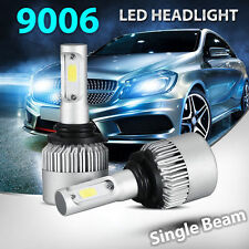 9006 HB4 160W 16000LM LED Headlight Kit Light Bulbs Fit Jeep Lexus Lincoln Honda