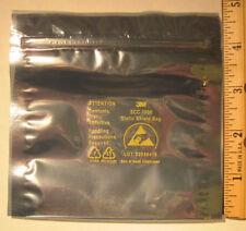 "2,000 ESD Anti-Static Shielding Bags, 4"" x 4"", Zip-Top"