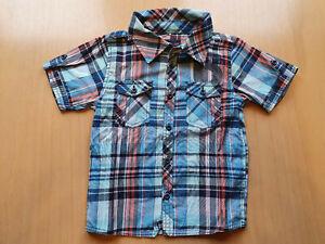 NAME IT Jungen Hemd Gohn Mini Ls Shirt 215 Kariert