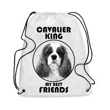 Borsa Sacca cane CAVALIER KING MY BEST FRIEND