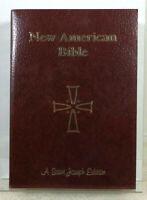 The St. Joseph New American Bible 2011 Paperback Giant Type Catholic Publishing