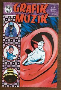Grafik Muzik #4 First Printing original Comic Book