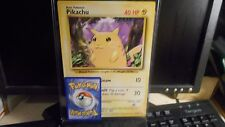 Pokemon 1998 BASIC PIKACHU JUMBO CARD 58/102~ AWESOME!!  CATCH EM ALL