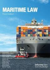 Maritime Law (Maritime and Transport Law Library), , Very Good Book