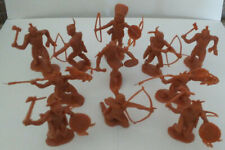 Lot of 11 Indians for 1968 Marx Carry All Action Fort Apache Play Set #4685