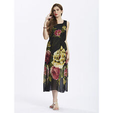 Chiffon Summer/Beach Floral Clothing for Women