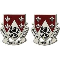 USA ARMY UNIT CREST 249th ENGINEER BATTALION    PAIR    NEW (Made in USA)
