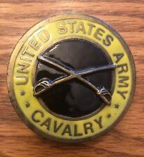 UNited States Army Calvary Brass Belt Buckle IMC. INDIANA R&R.