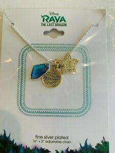 Disney Raya The Last Dragon Necklace Better Together silver plated,$45.00 retail