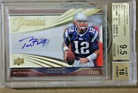 🐐 💥 Tom Brady AUTO Patch  UD GOLD not Bowman Rookie RC chrome 2000 /25 BGS 9.5