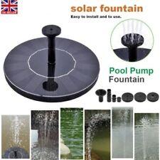 Solar Power Water Pump Panel Kit Fountain Pool Garden Pond Submersible Watering