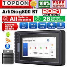 TOPDON ArtiDiag800BT OBD2 Scanner diagnostico Sistema completo IMMO Codifica DPF