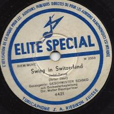Geschwister Schmid 1942 : Swing in Switzerland + Cowboy, sing