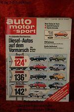 AMS Auto Motor Sport 11/81 Toyota Cressida Audi 80 Ford Mustang Porsche