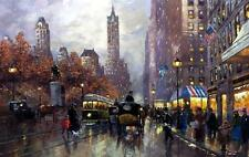 Robert LeBron Central Park Signed and Numbered Print