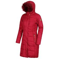 Women's Regatta Fermina 11faux Fur Trim Hooded Coat Size 12
