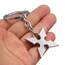 Kingdom Hearts Roxas Cross Pendant Cosplay Keychain Key Ring