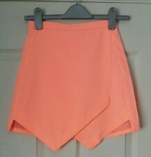 Ladies brand new Fashion union neon orange skirt size 6