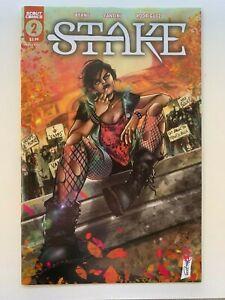 STAKE # 2 SECRET MIDDLE FINGER Variant - Scout Comics 2021