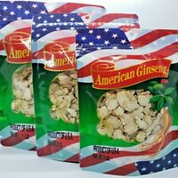 4oz-16oz 100% Hand Selected American Ginseng Slice Root Ginseng Slice 美国花旗参