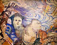 MASCARITAS DE CARNAVAL - Painting Mixed Media on canvas