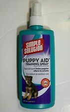 Puppy Aid Training Spray Simple Solution Reduces House Training Times Dog