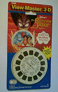 Vtg Sealed Tyco Disney View Master Reel Set - The Return Of Jafar