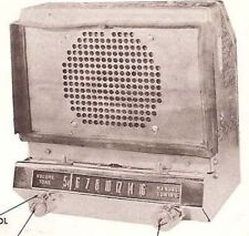 1952 STUDEBAKER radio service manual AC2113 schematic PHOTOFACT AUTO tube REPAIR