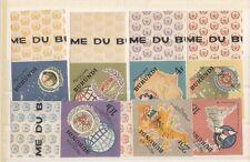 Burundi 1965 20 anniversario ONU 161-67 non  dentellata Mnh