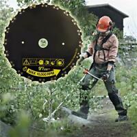 Tête de débroussailleuse CHAINE Lames de tronçonneuse Outil de Jardin Herbe Bois